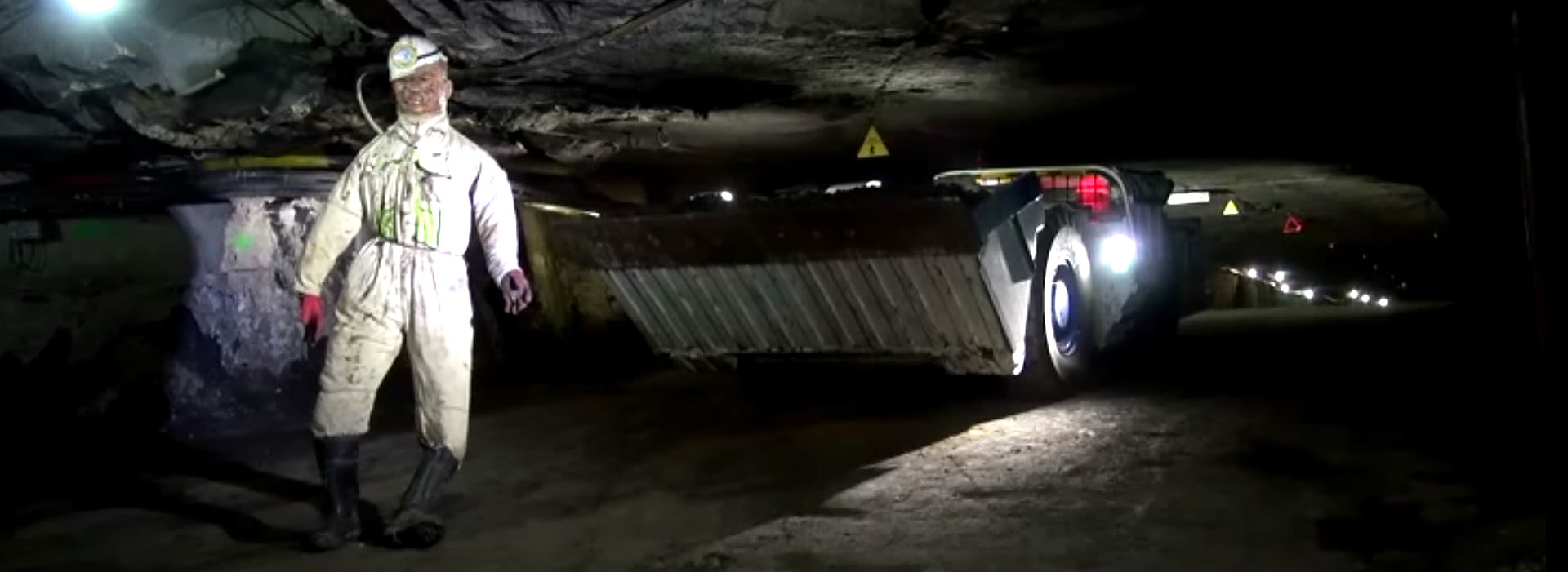 Underground Machinery Test with mannequin | A&R Engineering