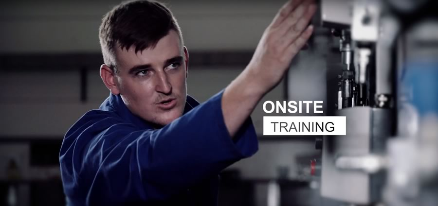 On Site Training banner image